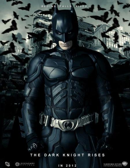 The Dark Knight Rises poster - Batman