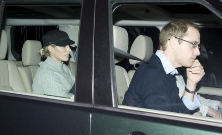 Prins Philip krijgt bezoek van kleinkinderen