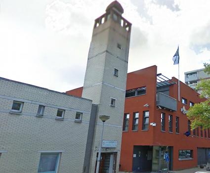 El Ouma-moskee, Amsterdam (foto: Google Streetview)