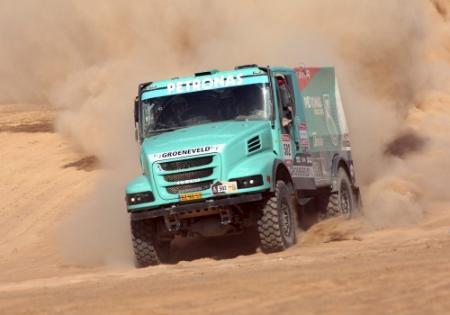 Trucker De Rooy wint Dakar Rally