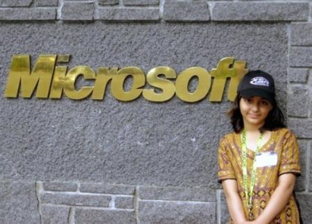 Jongste Microsoft-werkneemster overleden