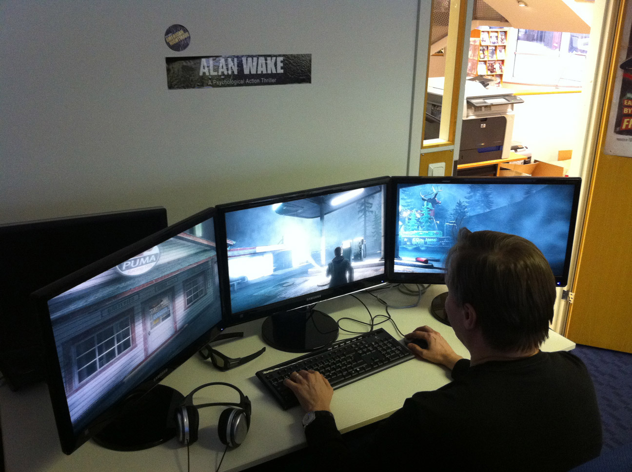 Fok Nl Nieuws Pc Versie Alan Wake Maakt Gebruik Van