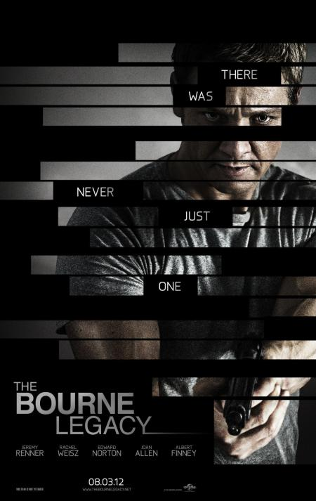Filmposter The Bourne Legacy