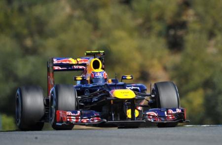 Webber in de RB8