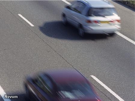 Auto's op snelweg