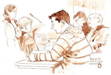 Verhoor Robert M. getoond tijdens rechtszaak