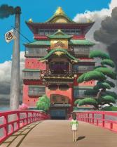 Chihiro komt in een magische wereld terecht
