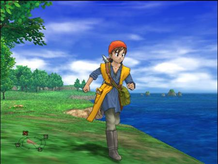 Vergezichten in Dragon Quest VIII
