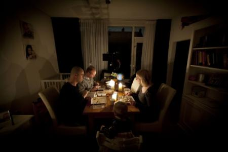 Stroomstoring in Rotterdam-West