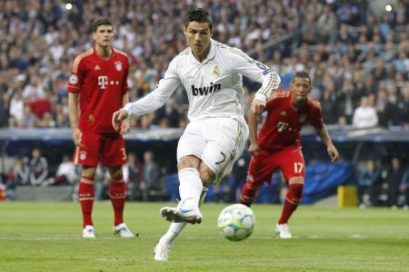 Ronaldo zette Real op een 1-0 voorsprong (Foto: Pro Shots)