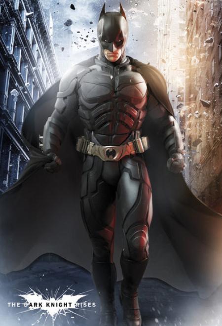 The Dark Knight Rises: Batman (gestileerd)