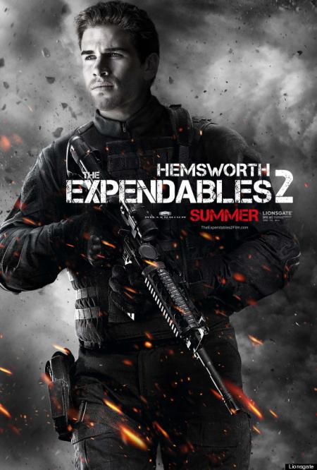 The Expendables 2 - Hemsworth