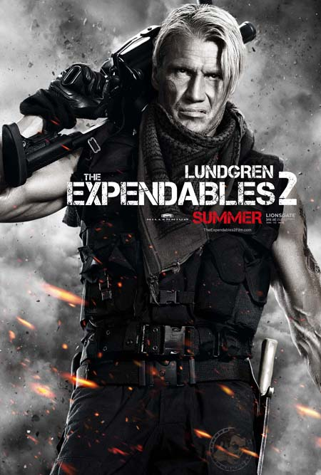 The Expendables 2 - Lundgren