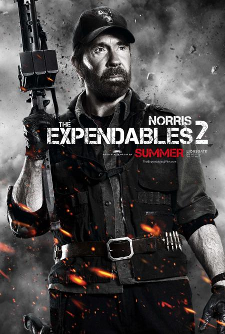 The Expendables 2 - Norris