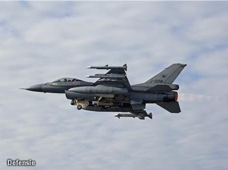 Grote oefening vanaf vliegbasis Leeuwarden (Foto: Novum)