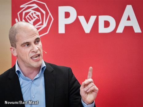 Diederik Samsom lijsttrekker PvdA (Novum)
