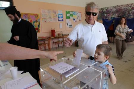 'Dramatisch verlies Griekse grote partijen'