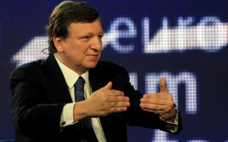 Barroso:'Grieken desnoods uit euro'