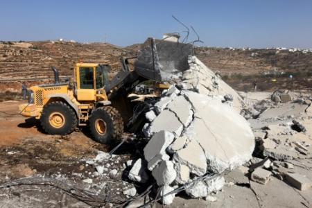 Israël sloopte door EU betaalde gebouwen