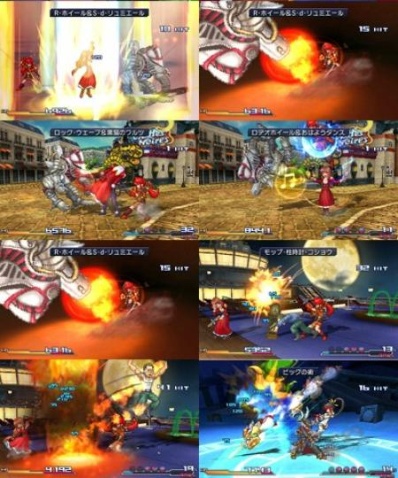 Project X zone screen 3