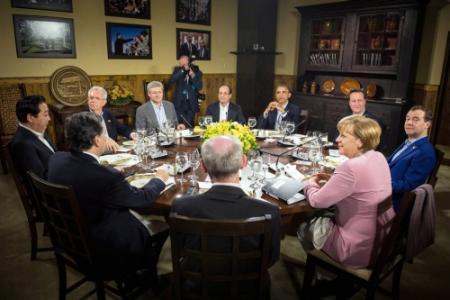'G8 boekt vooruitgang in crisis eurozone'