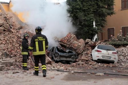 Doden door aardbeving in Italië