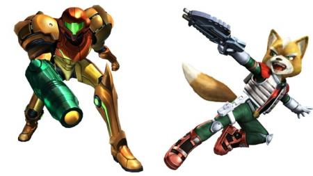 Metroid (Samus) - Star Fox (Fox McCloud)