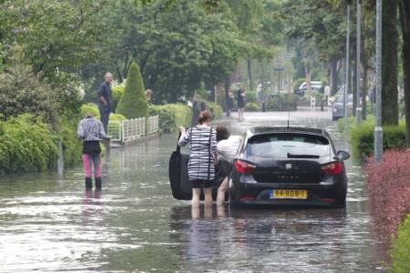 Noodweer over Oost-Nederland