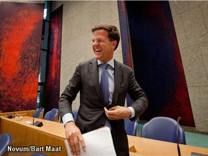 'Rutte is teruggefloten' (Foto: Novum)