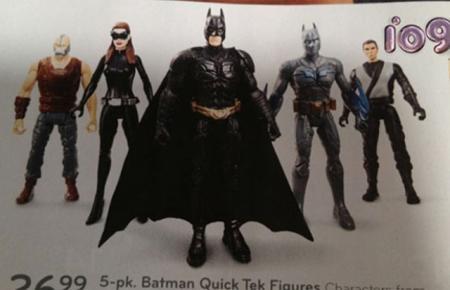 The Dark Knight Rises actiefiguurtjes