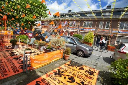 Nederland in ban van Oranje