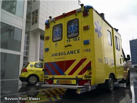 Ambulancemedewerkers houden werkonderbreking (Foto: Novum)