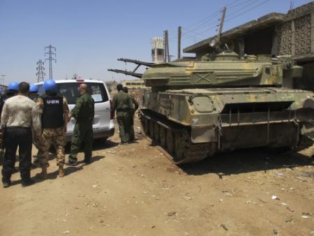 Rusland: VS bewapent Syrische rebellen