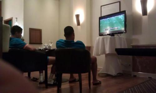 NL elftal hotel 2012