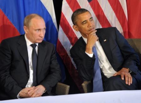 Obama en Poetin roepen op tot vrede in Syrië