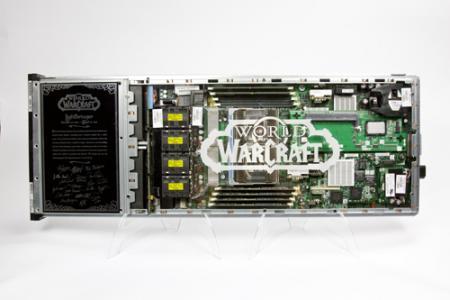 World of Warcraft blade server