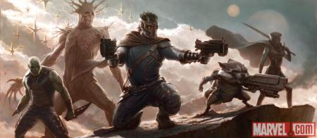Concept art The Guardians of the Galaxy