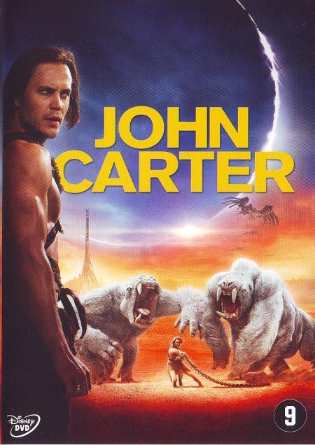 John Carter dvd cover