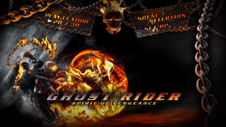 Ghost Rider Spirit Of Vengeance dvd menu