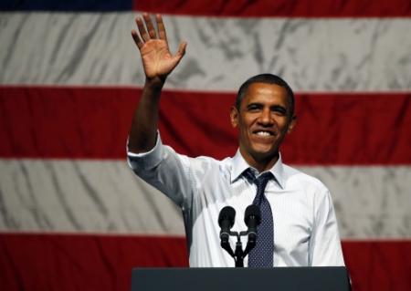 'Obama ligt voor dankzij vrouwen'
