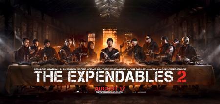 Het Laatste Avondmaal van The Expendables 2
