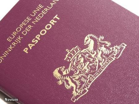 vingerafdrukken afgeven voor paspoort