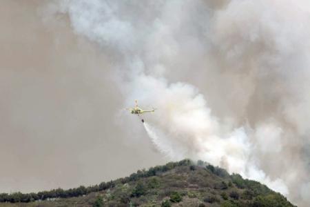 Evacuatie wegens brand Canarische Eilanden