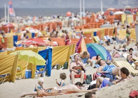 Strandtenthouders verwachten topdrukte