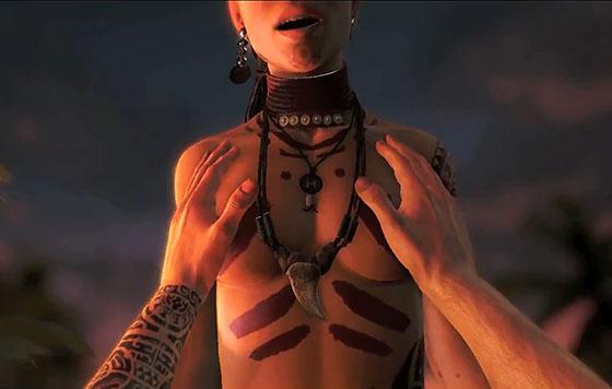 Far Cry 3 секс с Цитрой 18 Я не шучу  Если тебе нет 18