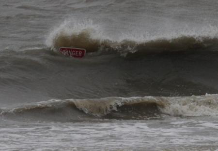 Orkaan Isaac bereikt Louisiana