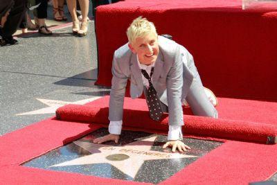 Ellen DeGeneres laat over zich heenlopen (Novum)
