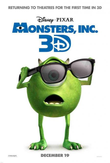 Monsters, INC. 3D: Mike
