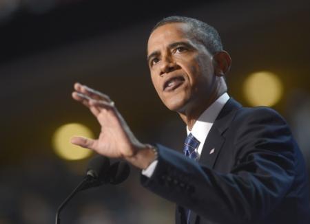 Obama na conventie aan kop in peiling