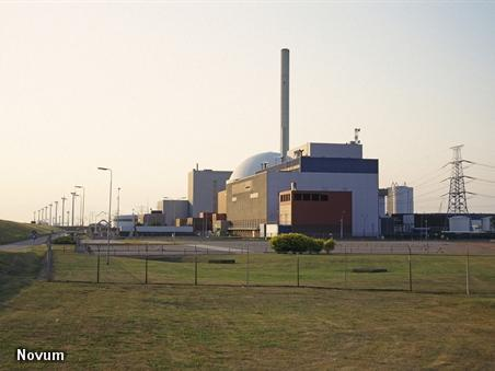 De kerncentrale in Borssele (Foto: Novum)